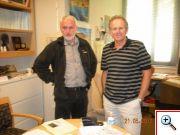 Karel Kupka (TriloByte) a Trevor Hastie (Stanford University), guru v oblasti lineárních modelů a spoluautor systému S-Plus a R