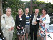 Zleva: J.Á. Víšek (UK Praha), Karin Jeske, Jan a Gejza Dohnal (ČVUT Praha), Marcela Salfická, (TriloByte)