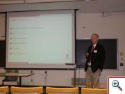 Marcus Jobe, Miami University, předseda sekce Multivariate Quality Control, guru v oblasti průmyslové statistiky